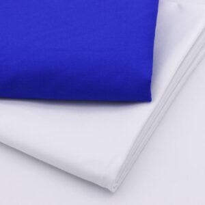 -font-b-White-b-font-Blue-Pure-cotton-font-b-fabric-b-font-for-dresses
